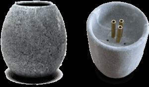 Hukka aromaterápiás kövek és szökőkutak